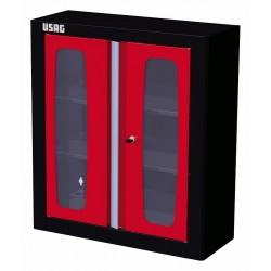 5010 B2- Armario de pared con 2 puertas transparentes