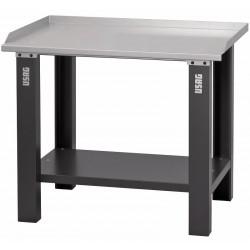 506 A2- Banco de trabajo con mesa de chapa de acero