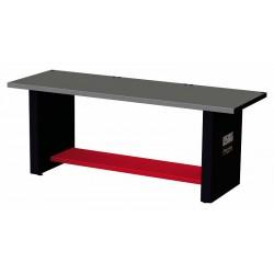 519 RB2- Banco de trabajo Racing con mesa de chapa de acero Inox