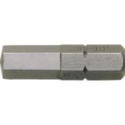 660 E- Puntas para tornillos con hexágono insertado