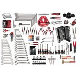 496 B7- Surtido para mecánica del automovil (210 pzas)